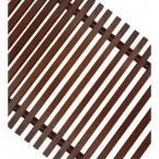 Декоративная решетка Techno РРД 150-600, рулонная деревянная
