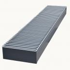 Внутрипольный конвектор отопления с естественной конвекцией БРИЗ 200x80x800