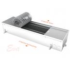Внутрипольный конвектор отопления с естественной конвекцией EVA K160.165.900