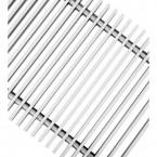 Декоративная решетка Techno РРА 150-600, рулонная алюминиевая