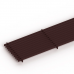 Декоративная решетка itermic LGA.300.700, продольная, материал алюминий