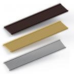 Декоративная решетка itermic SGA.200.600, рулонная, материал алюминий