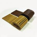 Декоративная решетка itermic SGW.200.600, рулонная, материал натуральное дерево